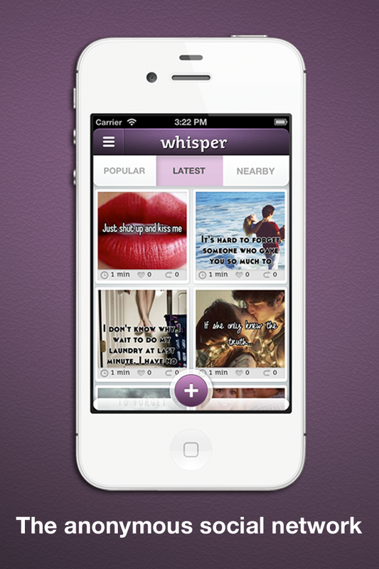 How to build an anonymous app like Whisper