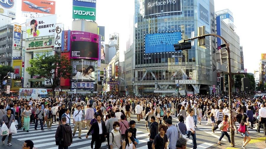 Japan Tokyo density