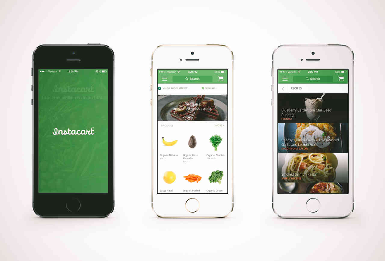 Instacart local delivery app