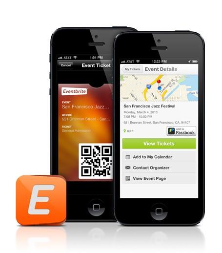 Event planner app - eventbrite