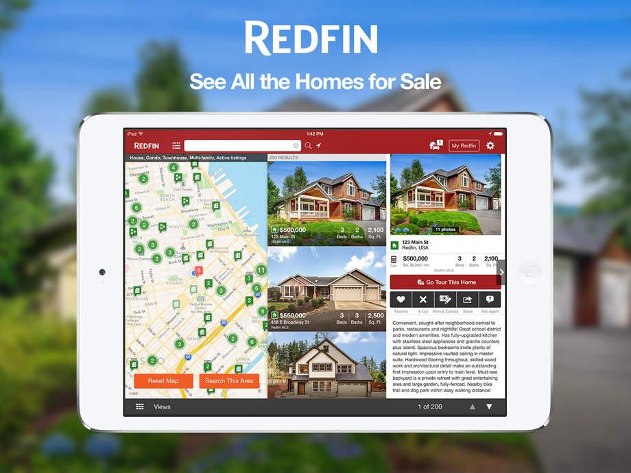 Redfin app development technology