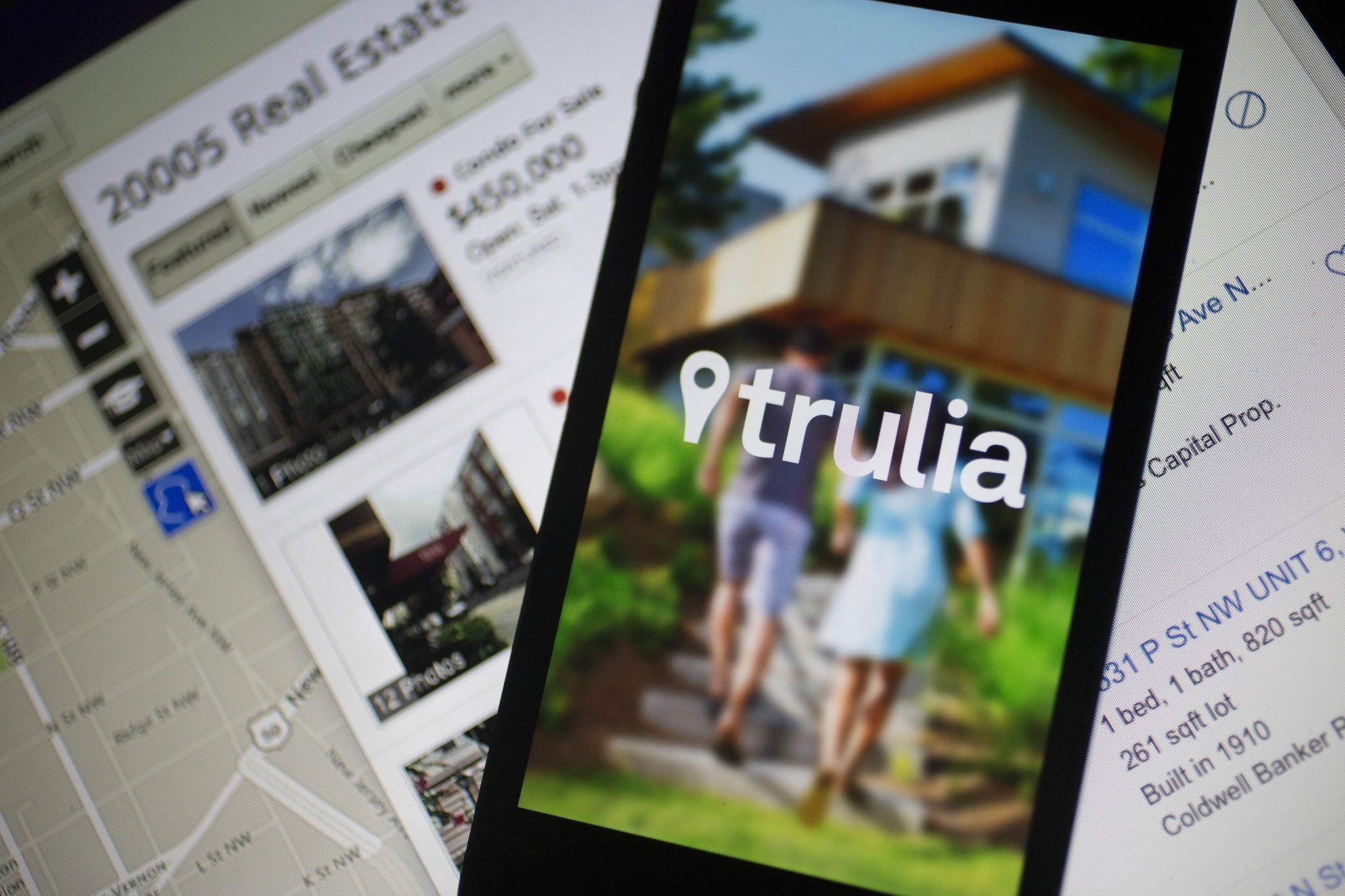 Trulia and Zillow mobile