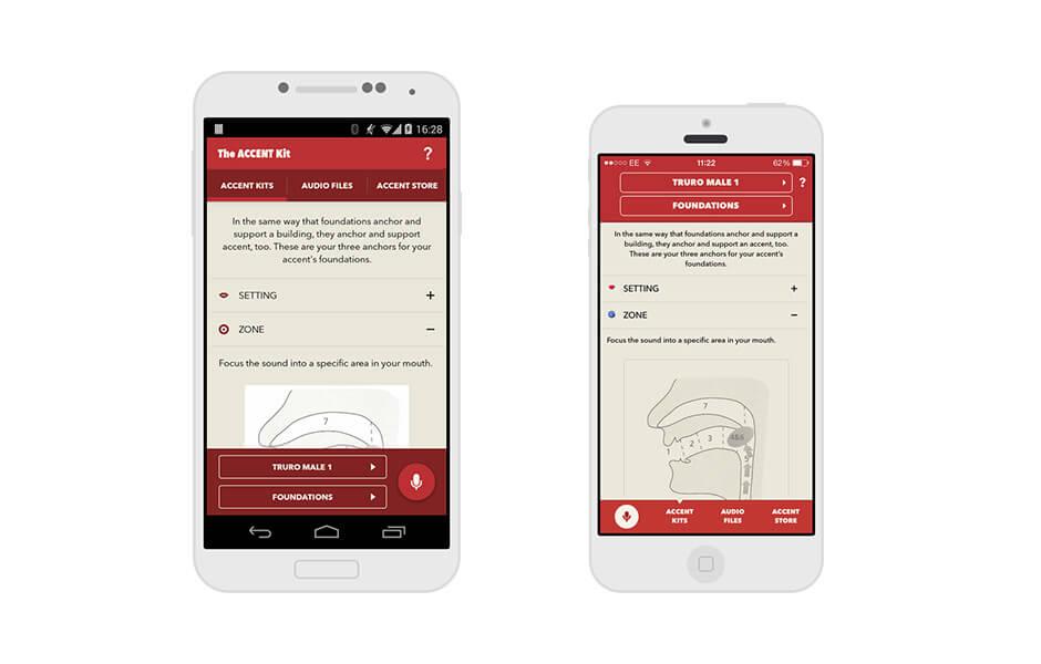 Accent Kit app