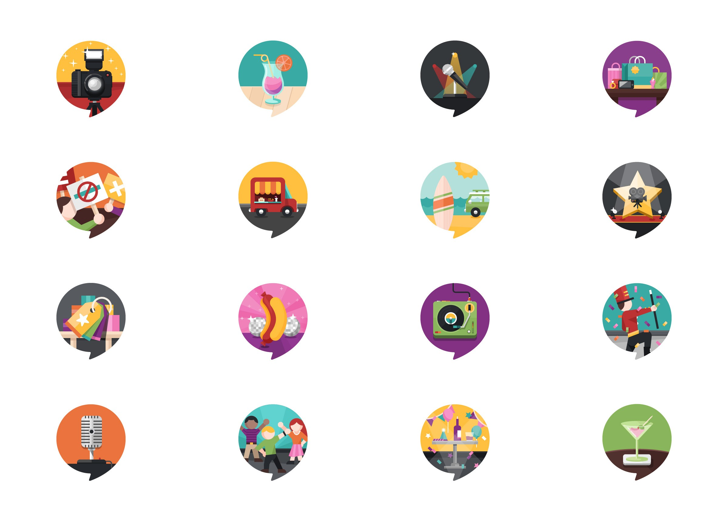 Mobile App Gamification. Badges