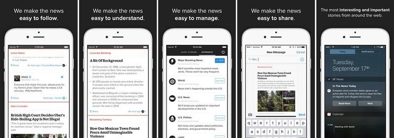 App store screenshots BuzzFeed news