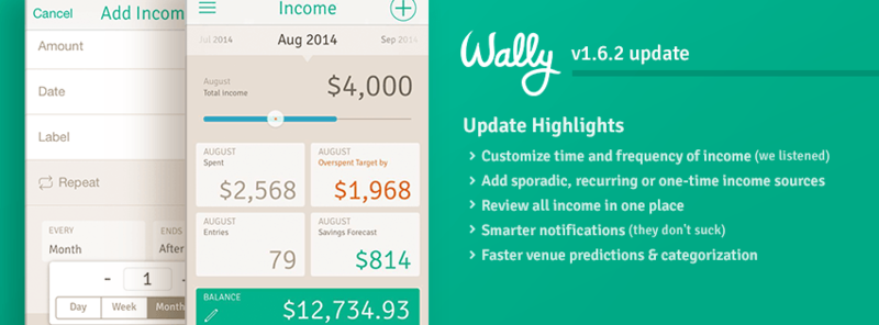 Wally+ in finance startups list