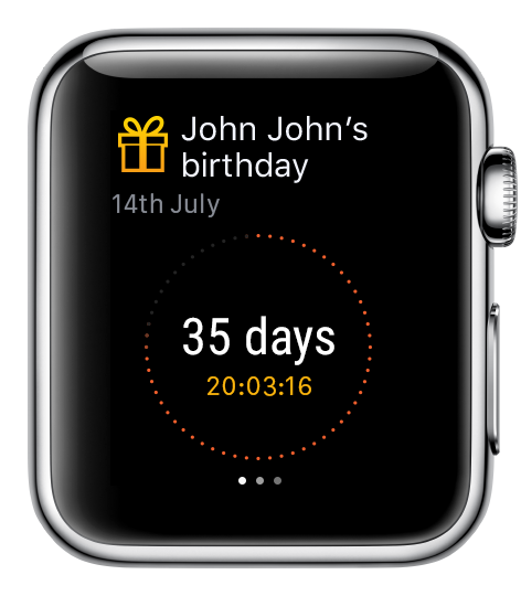 My Day Watch app for Apple Watch