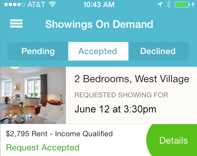 showings on demand Naked Apartments