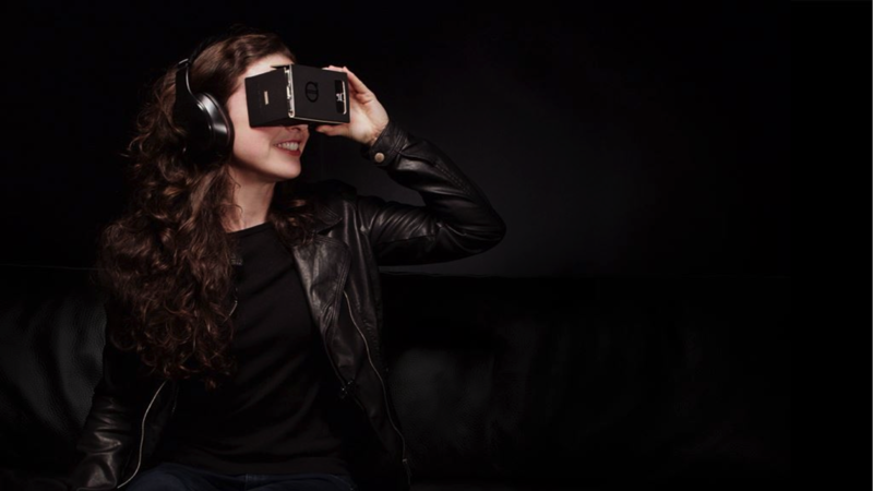 Volvo uses Google Cardboard in the commercial for their virtual reality app