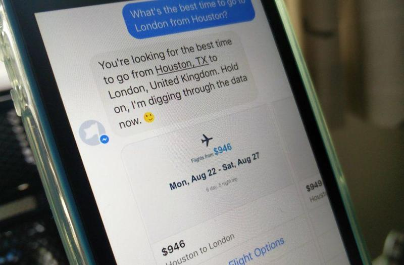 travel apps with chatbots