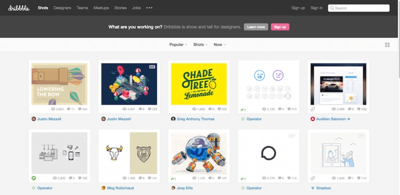 how Dribbble built a community