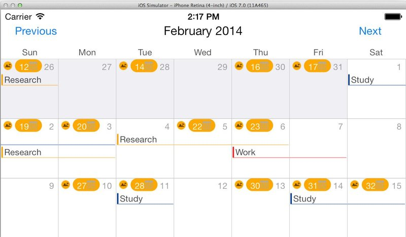 how to make a calendar and implement it in your application