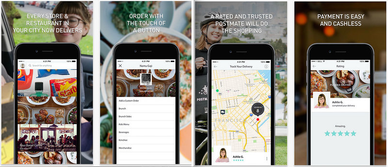on-demand delivery app like Postmates