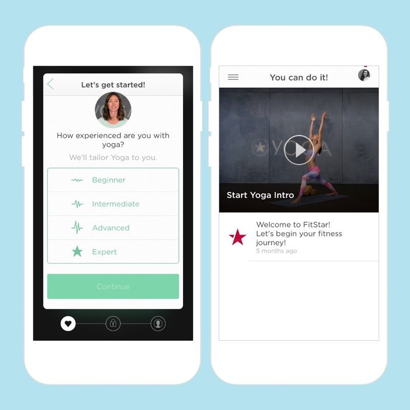 what-fitness-and-workout-apps-will-trend-in-2017-based-on-consumer-fitness-habits-Fitstar-Yoga