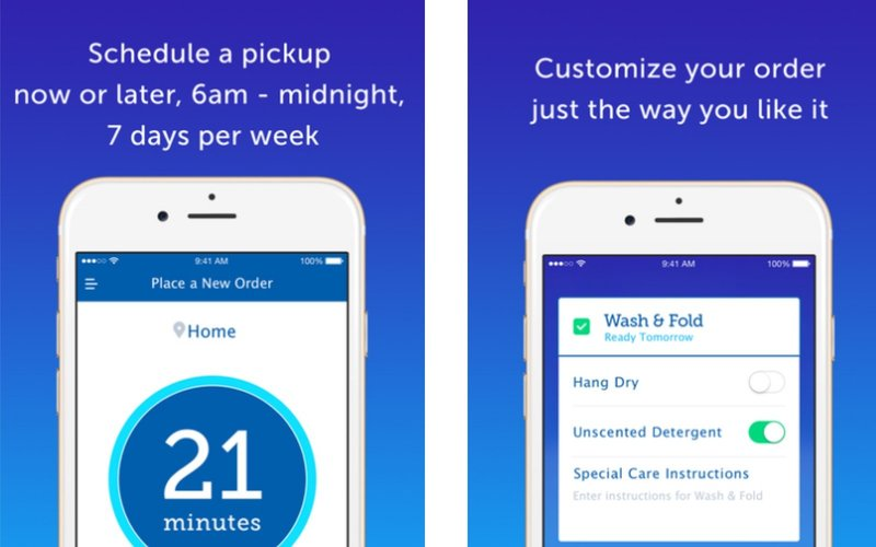 best on-demand laundry apps FlyCleaners