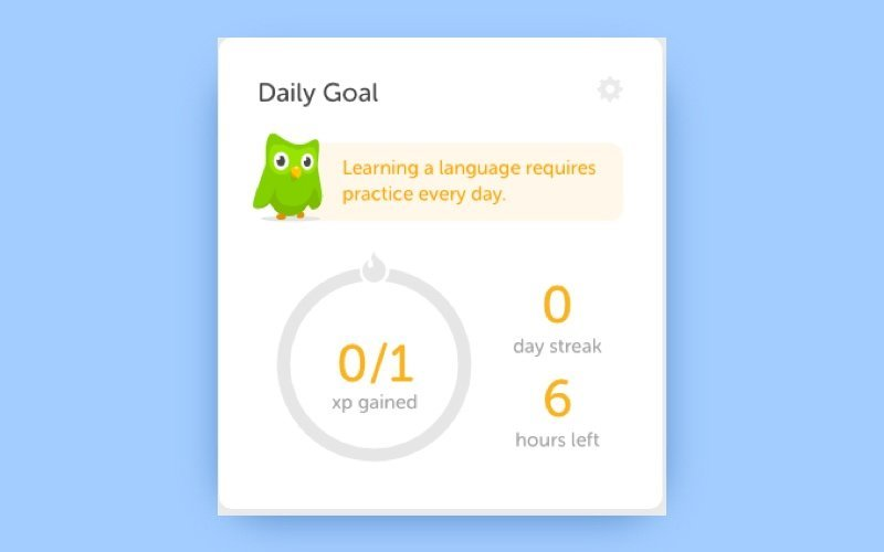 How to develop a language learning app duolingo notifications