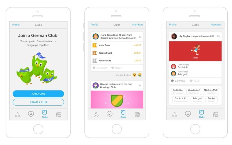 How to develop a language learning app duolingo language clubs
