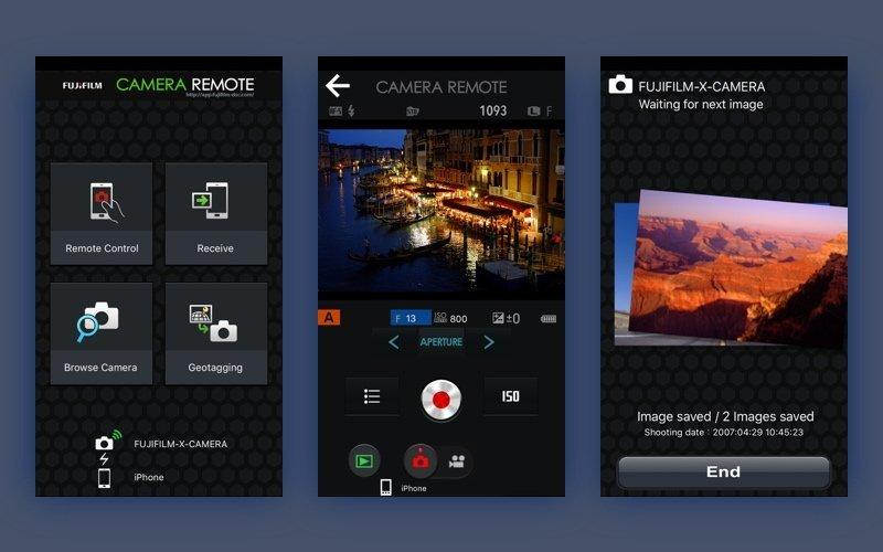 fujifilm camera remote app