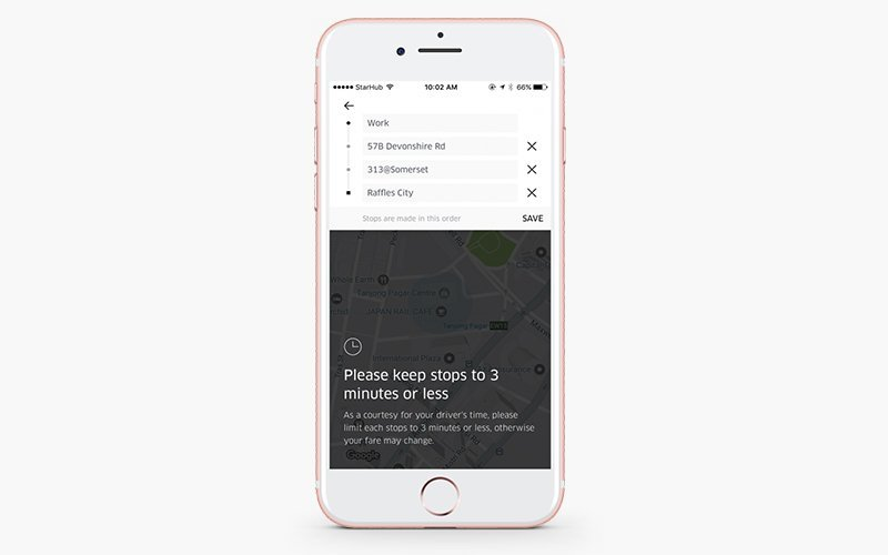 how to scale your uber-like taxi business add extra stops uber