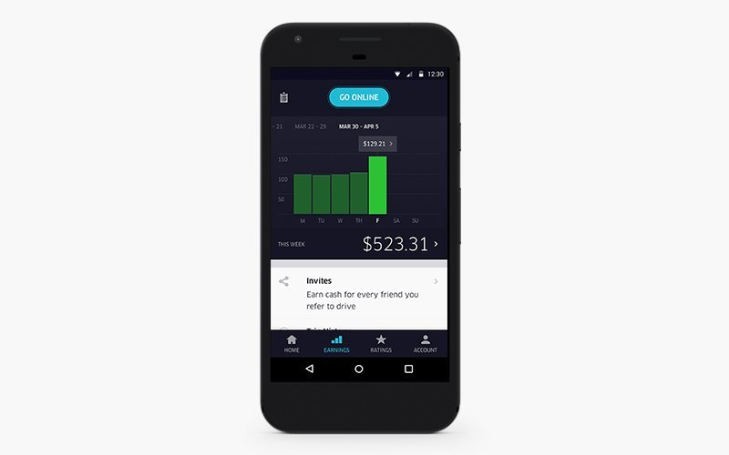 how to scale your uber-like taxi business tracking earnings in a driver app