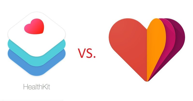 GoogleFit and HealthKit comparison