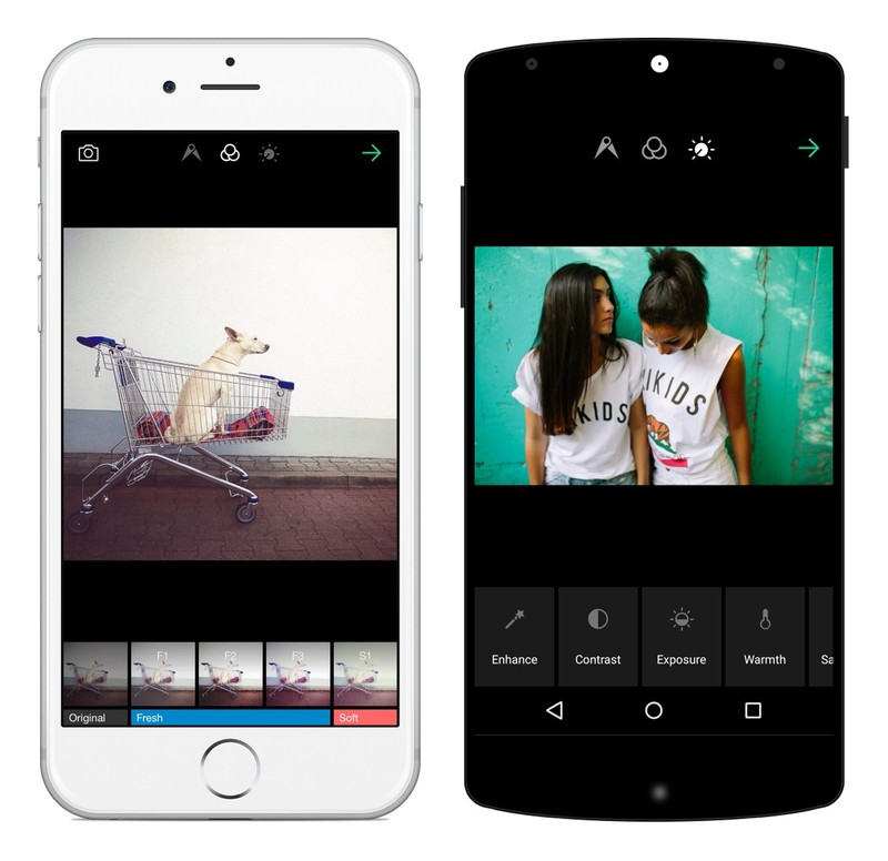 The EyeEm app. What to know about developing a photo edit app
