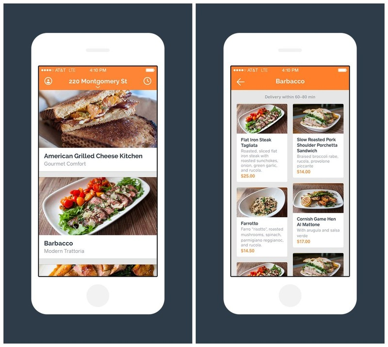 on-demand delivery apps for restaurants
