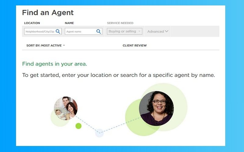 Finding agents