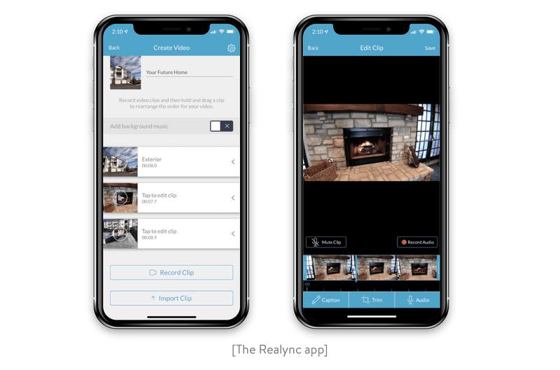 The Realync app