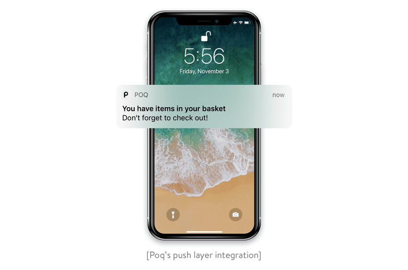 Poq's push layer integration