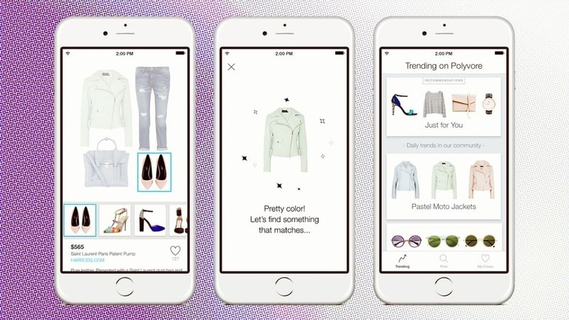 How to develop a shopping app like Polyvore?
