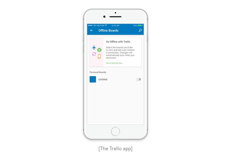 The Trello app