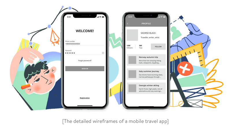 UI/UX design: How to create wireframes