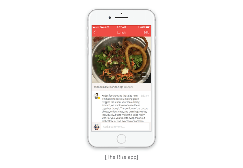 The Rise app