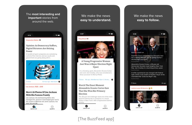 The BuzzFeed App