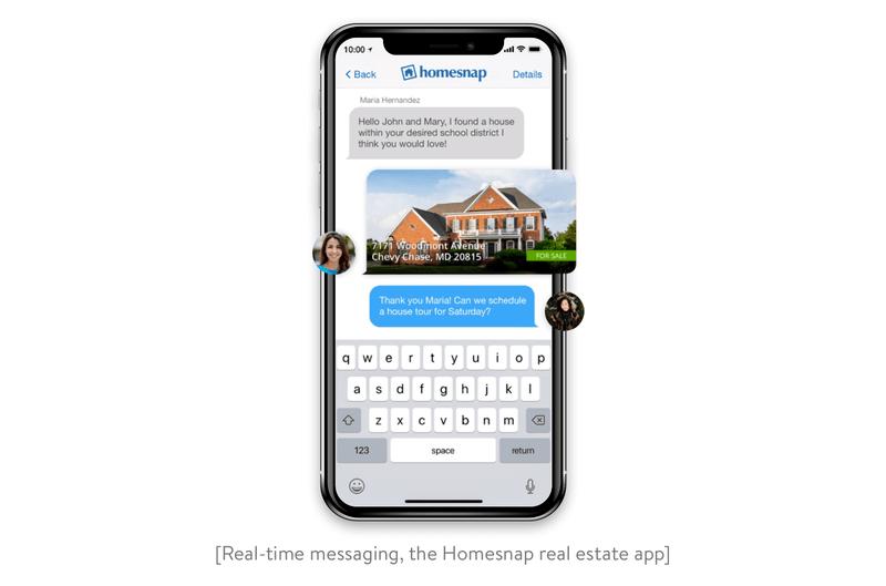 Homesnap real estate app