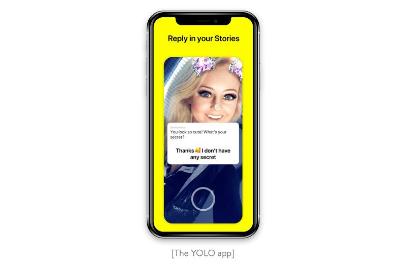The YOLO app