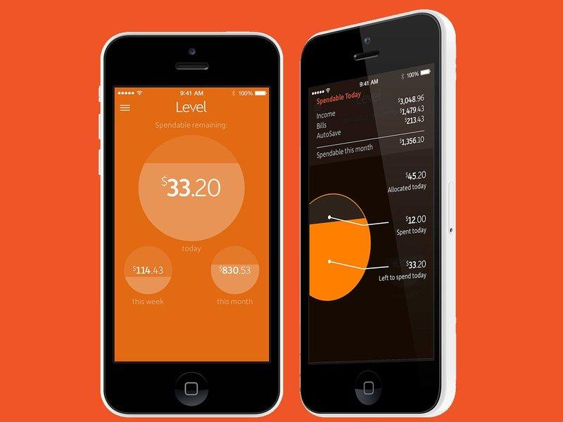 Level Money budget app