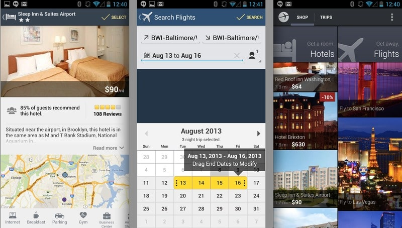 how to build an app like Expedia