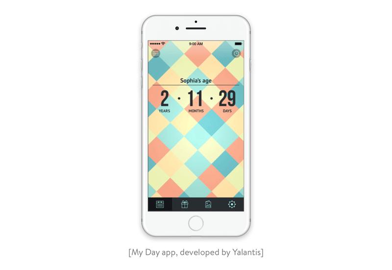 My Day app Developed by Yalantis