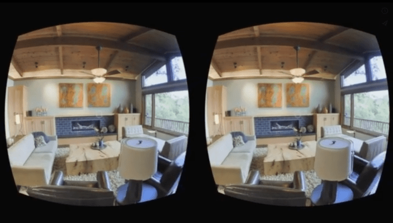 3D constructions for VR
