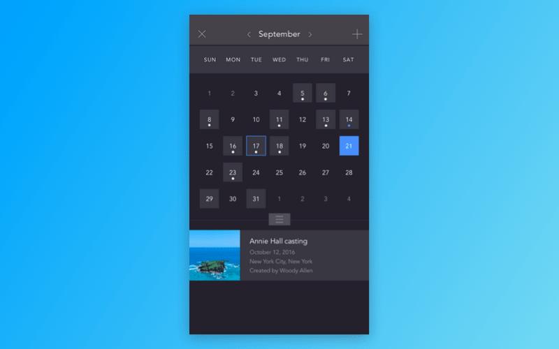 Proreel Calendar
