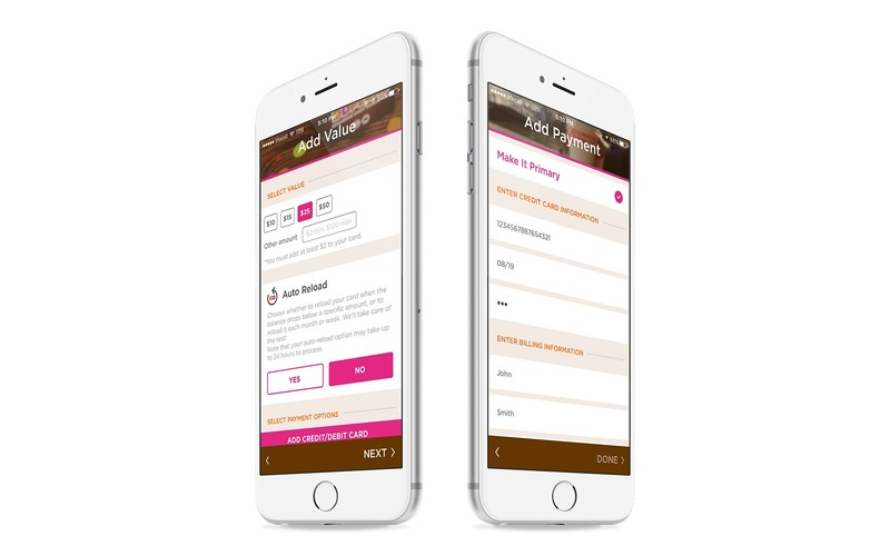 how_to_create_a_loyalty_app_dunkin_donuts_iOS_app_payment_gateway