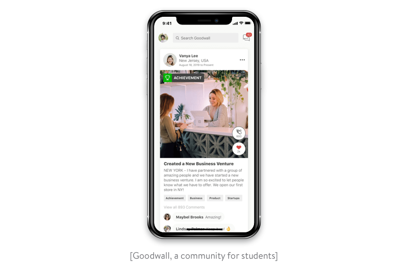 goodwall community for students