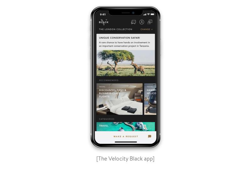 velocity black app