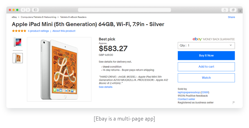 ebay is an example of MPA