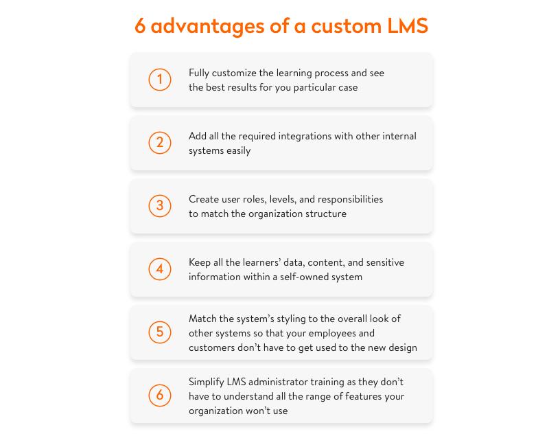 6 advantages of a custom lms