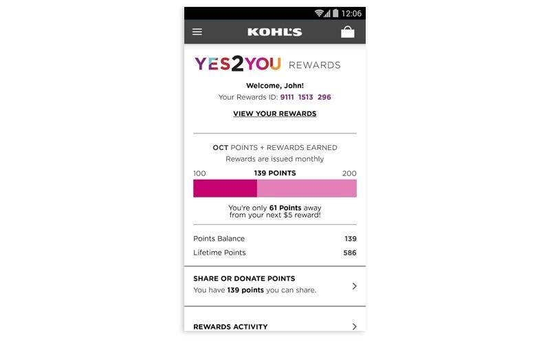 kohls_loyalty_app_ios_track_points_dashboard