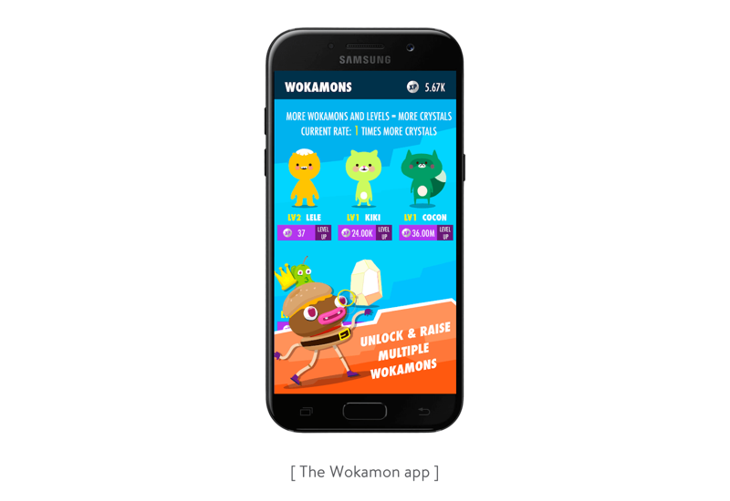 the wokamon app