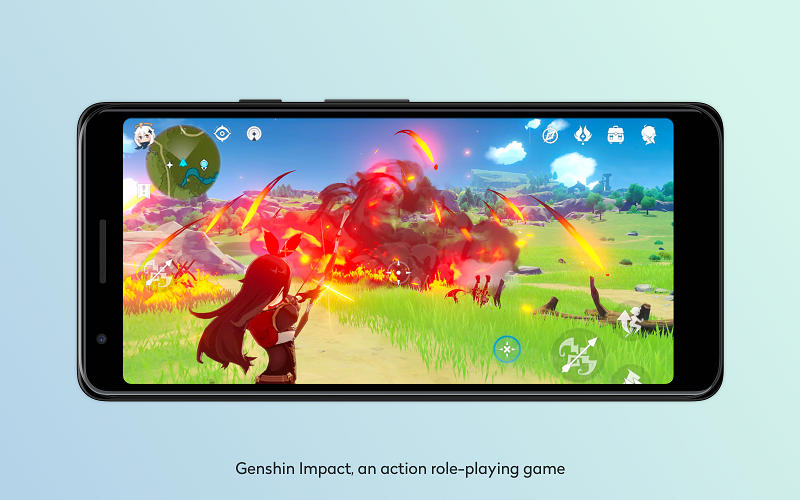 genshin impact, an action role-playing game